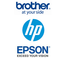 Brother - HP - Epson